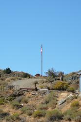 Sprint-Nextel flagpole Virginia City