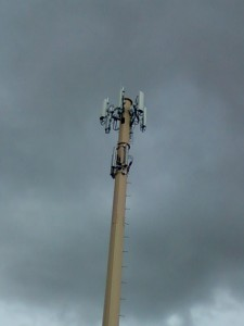 T-Mobile antennas (top) and Cricket antennas