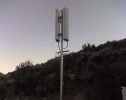 Sprint cell site near McCarran & Skyline - antennas